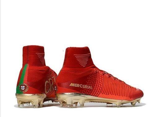 2020 Designer Red Gold Children Soccer