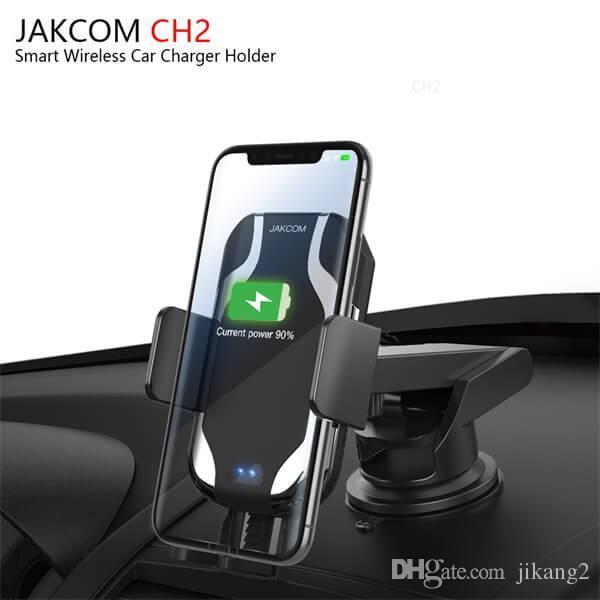 JAKCOM CH2 Smart Wireless Car Charger Mount Holder vendita calda in caricabatterie cellulare come antico orologio da tavolo poron guardare i telefoni