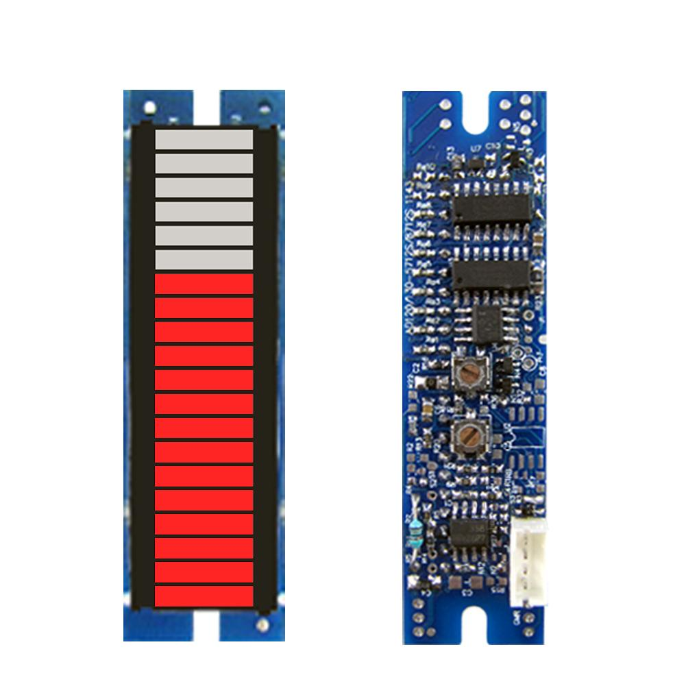 Can measure all kinds of energy, 20 segment analog signals, active led meter module, column display