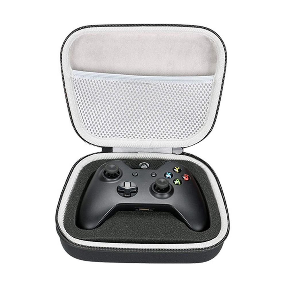 X 박스하기 / S / 메쉬 포켓과 하나의 X 컨트롤러를위한 휴대용 보관 가방을 들고 새로운 EVA 하드 케이스 여행 플러그 케이블에 적합