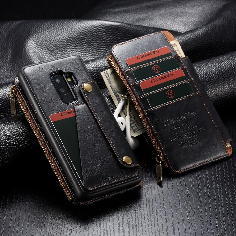 S9plus case para samsung galaxy s9 além de couro case titular do cartão suporte livro capa flip para samsung s9 plus wallet case etui