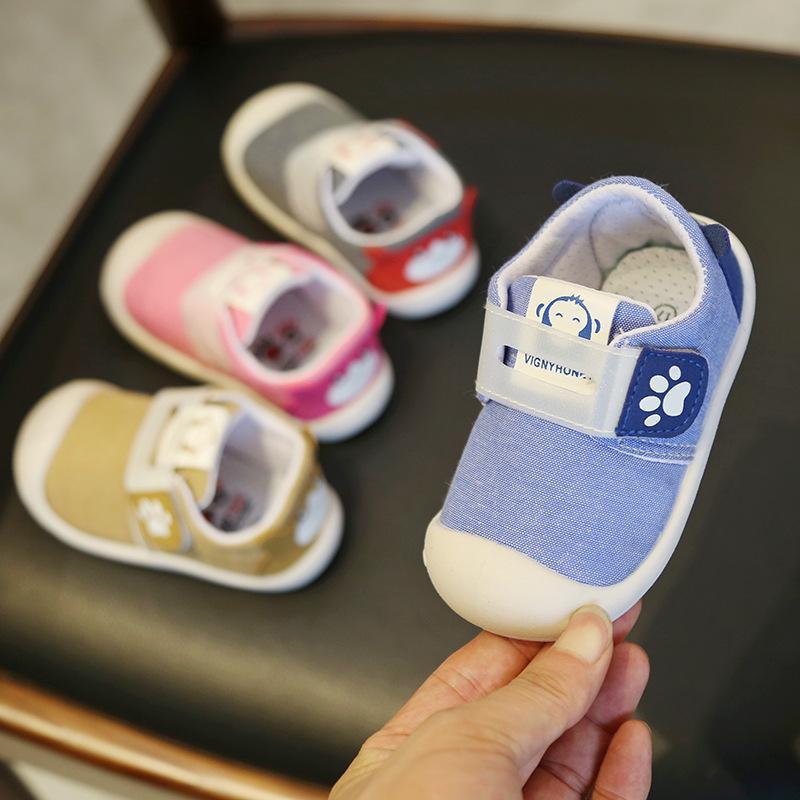 Boys Baby Shoes Summer Car Sandals Toddler Canvas Infant Walking Pre Walker Size