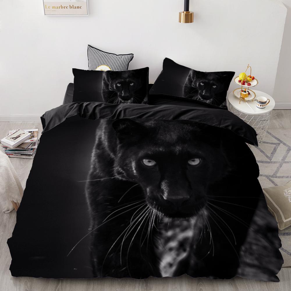 3D печать Bedding Set Custom, Cover Одеяло Set King / Европа / США, Утешитель / Одеяло / Одеяло Обложка, постельного белья для животных