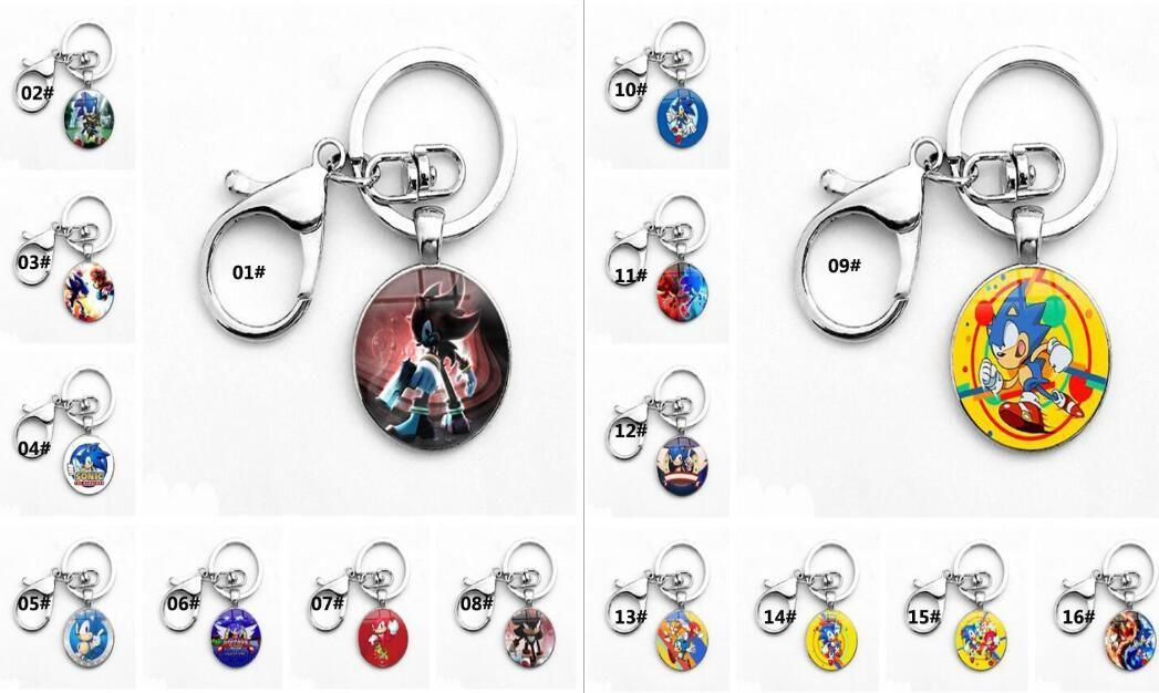 Sonic Boom Amy Rose Sticks Tails Werehog PVC keychain Action Figures Knuckles Dr. Eggman Anime Pop Figurines Dolls Kids Toys