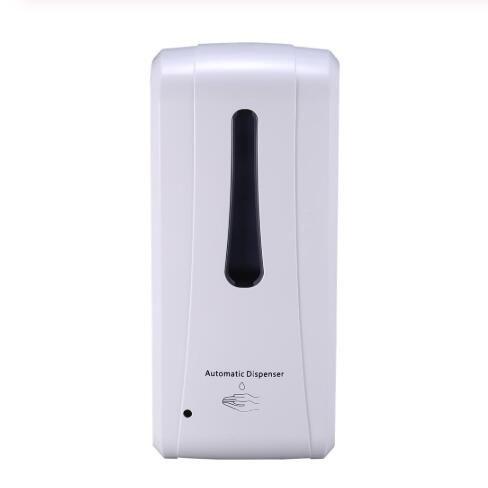 Automatic sabonete Líquido 1000ml Sabonete Líquido Dispenser Touchless sabonete Líquido gotejamento Dispensadores de indução com 3pcs Segurança Bloqueio CCA12269