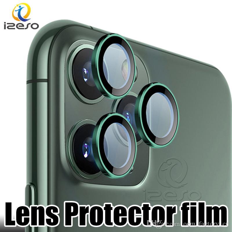 Macchina fotografica dello schermo della copertura completa 3D di caso Protector per iPhone 11 Lens anello di protezione posteriore Cases per iPhone Pro 11 izeso Max Glass Film
