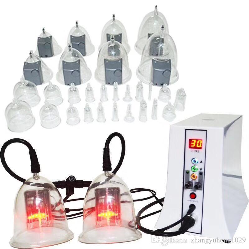 فراغ العلاج التخسيس إزالة الدهون آلة رفع الأرداف - فراغ الالتصاق آلة العلاج التصريف اللمفاوي