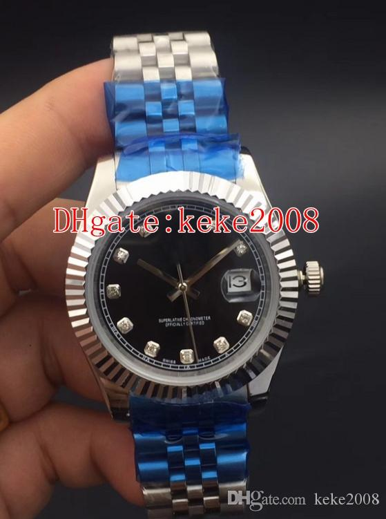 6 colores Excelente Topselling de pulsera 116234 116334 Acero inoxidable 36mm 31mm 41mm bodas de pulsera mecánico automático para hombre Relojes