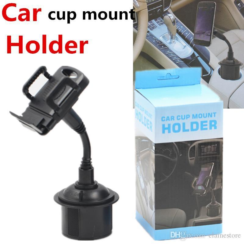 Mobile Holder Universal Support voiture Holder réglable en col de cygne Coupe Pour Samsung S10 plus Phone Support Stand
