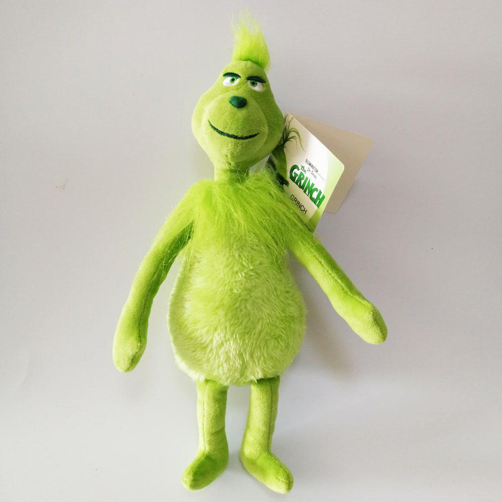 """De haute qualité 100% coton 11,8"""" 30cm Comment le Grinch a volé Noël en peluche Animaux pour enfants Cadeaux de vacances NOOM021"""