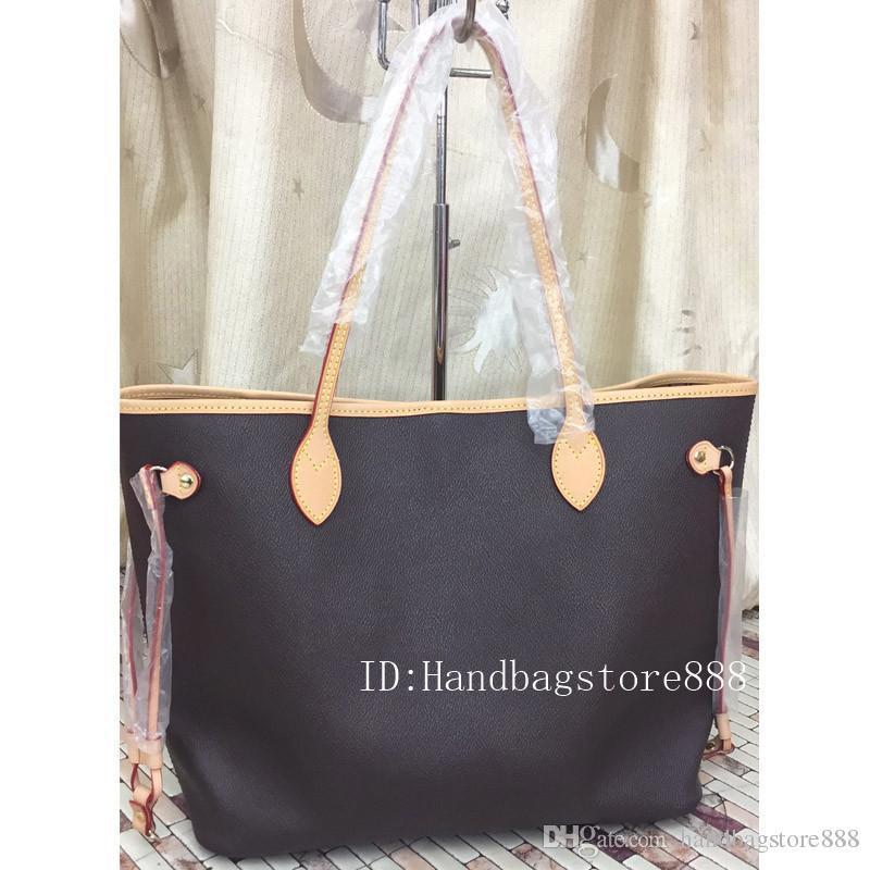 حقيبة متوسطة الحجم مع حقائب السفر المحفظة أزياء المرأة الجديدة عارضة حقائب حقيبة سيدة الشهيرة PU الجلود محفظة الإناث 2PCS / SET