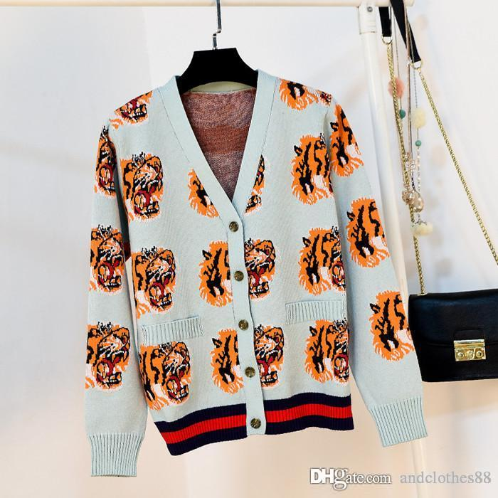 2020 design luxe Pulls de femmes femmes haut de gamme Cartoon vêtements griffés femmes Cardigan femmes Pull concepteur pull
