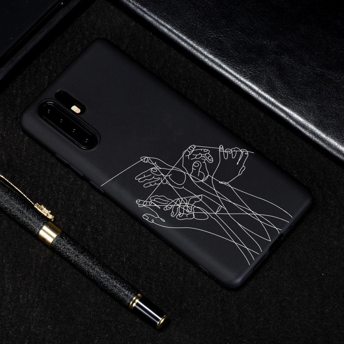 Пять рук Окрашенные Pattern Мягкий чехол TPU для Huawei P30 Pro