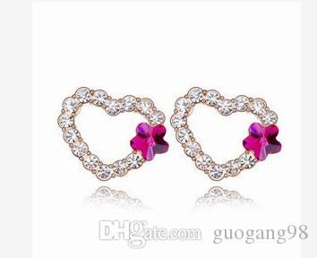 nobre de baixo preço de alta qualidade mais cor diamante cristal jade 925 da prata da mulher (25.89f
