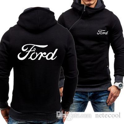 men winter hoodies zipper spring and autumn sports leisure hip hop hoodies men's sweater plus velvet Thick cardigan Coat men's clothing