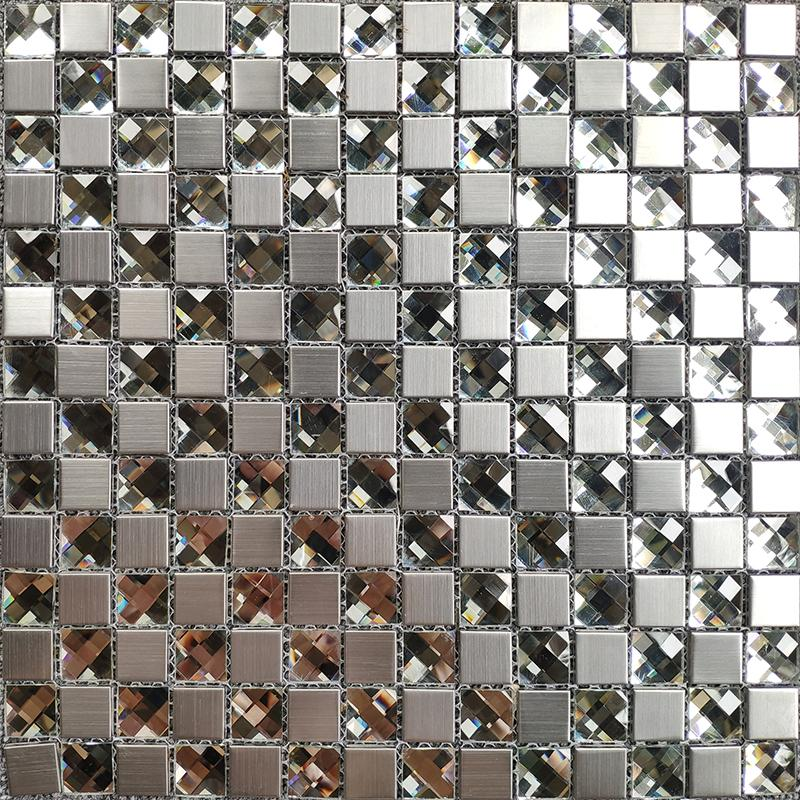 2021 Crystal White Mirror Glass Mosaic Tile Backsplash Jmfgt073 Silver Stainless Steel Metal Glass Mosaic Kitchen Wall Tiles From Sophie Charm 12 56 Dhgate Com