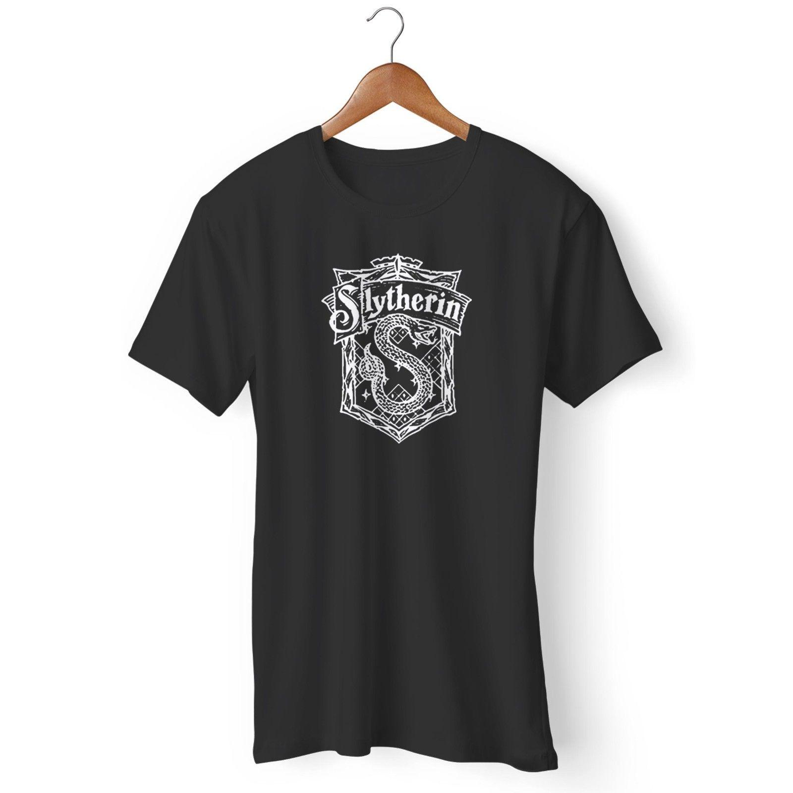 HARRY POTTER House Slytherin Camiseta Mujer
