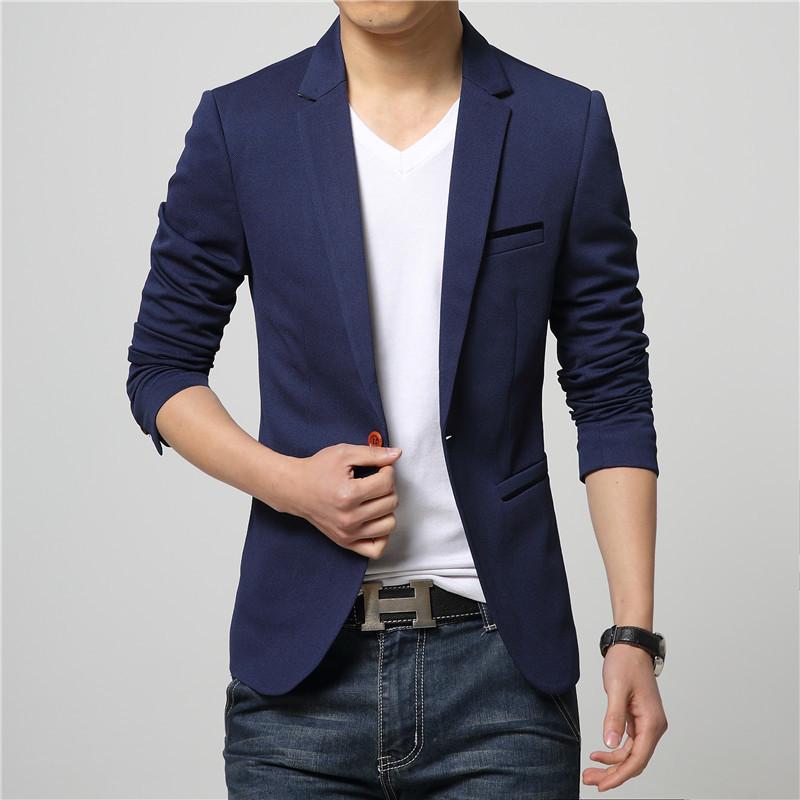 Подгонянный новый горячий мужской тренд дикий пиджак повседневный сплошной цвет мужской деловой формальный костюм