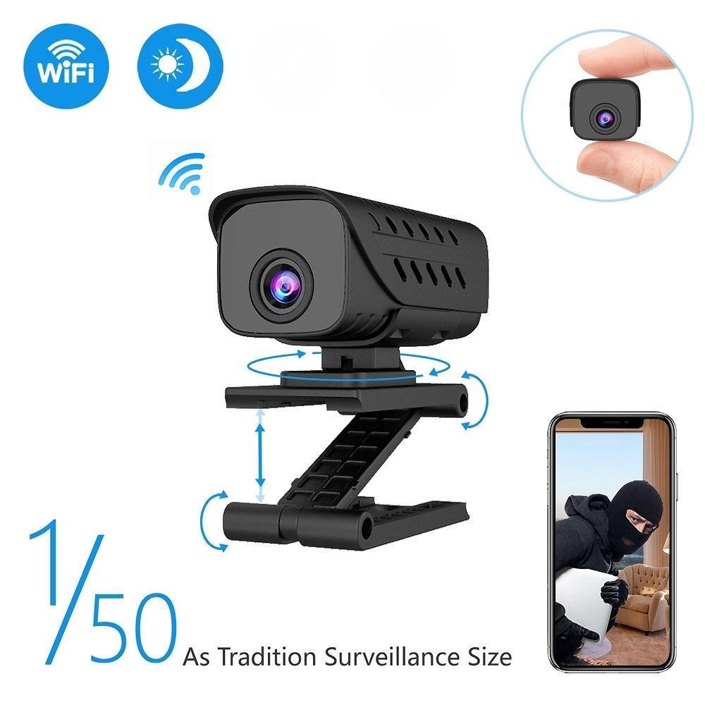 Kablosuz WiFi Mini IP Kamera Full HD 1080P IR-cut gece görüş mikro kamera Hareket algılama spor DV DVR ev güvenlik CCTV kamera