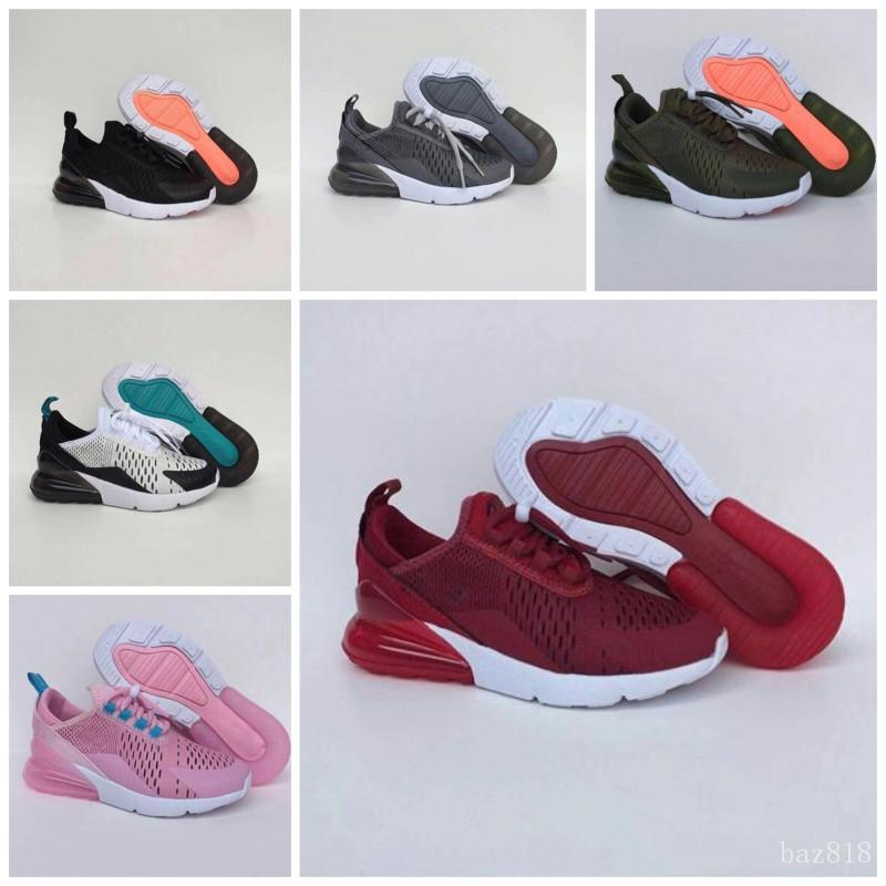 2020 классический удобную Детские кроссовки новорожденных мальчиков девочек черный белый красный синий спортивные кроссовки бег плюс Максов обувь