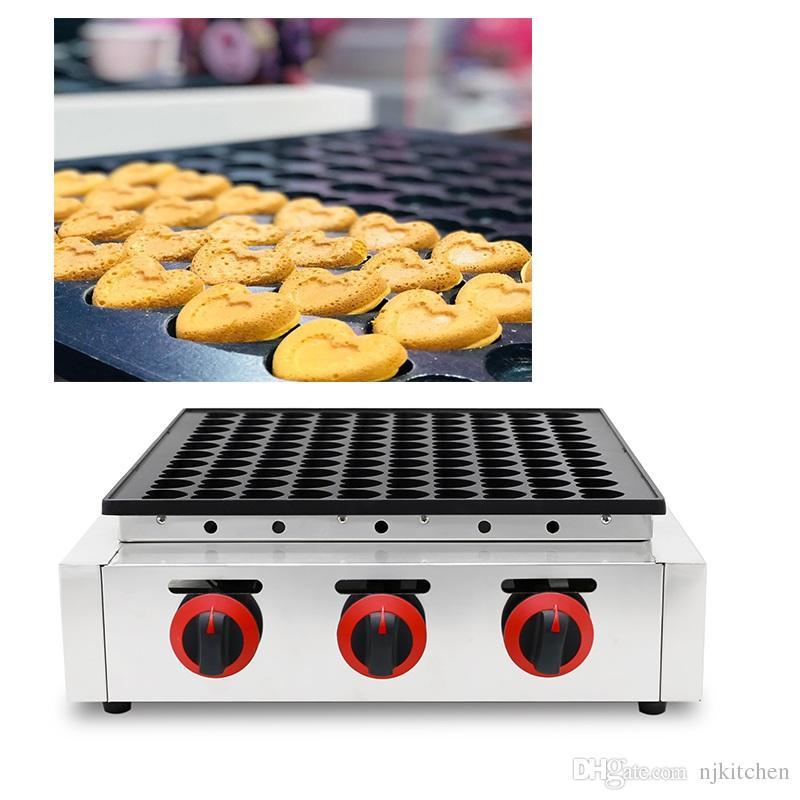 110 v 220 v yapışmaz Kalp Şekli Krep Waffle makinesi Elektrikli Hollandalı Gözleme Poffertjes Izgara Makinesi Demir Baker Yapma ...