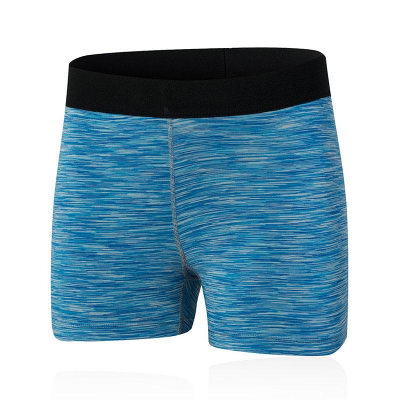 Shorts de secagem rápida das mulheres Esporte da aptidão que funciona Elastic apertado Calções Roupa Verão para as mulheres Yoga Curto