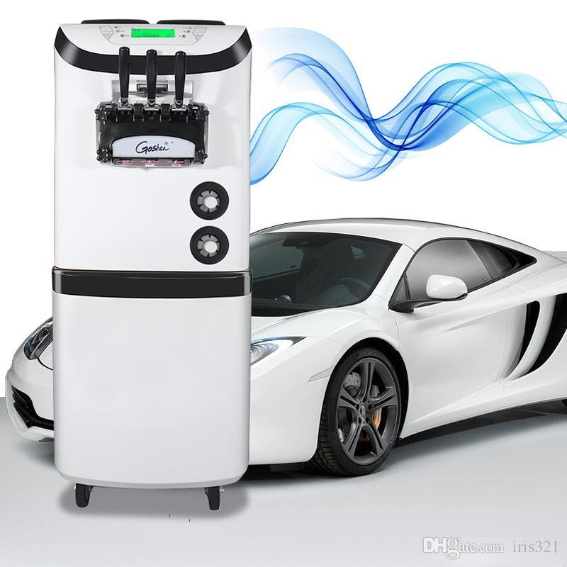 110 V / 220 V TRE Sapori 36-42L / H Migliore macchina per gelato vendita calda di nuova qualità macchina per gelato soft design