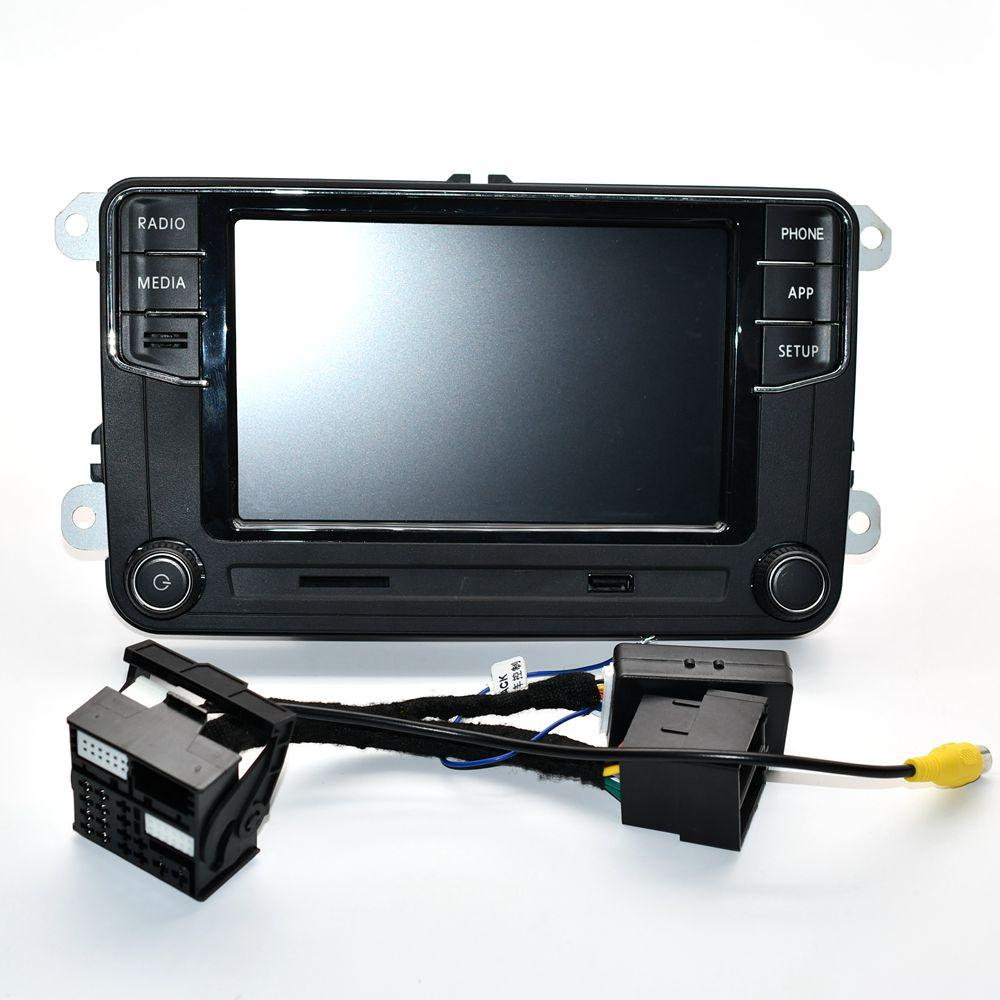 سيارة دي في دي عرض Desay 6.5 راديو MIB RCD330 زائد لشركة فولكس فاجن جولف 5 6 تيغوان باسات بولو 5GG 035 280 D 6RD 035 187 B