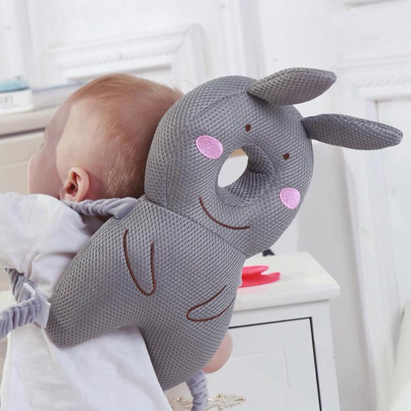 Cute Baby Head Protection Backpack Pillow Toddler Nursing Headrest Cushion