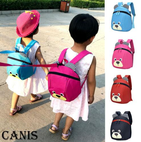 Toddler Kids Child Animal Backpack School Bag Rucksack Safety Harness with Reins