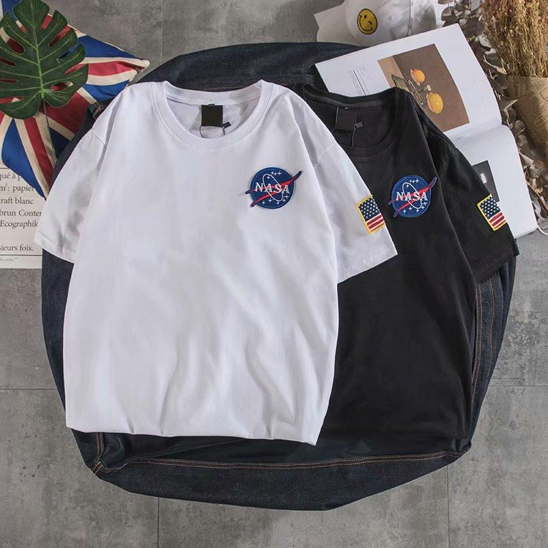 Hip Hop T Shirt Men Letter Printing Embroidery T-Shirts Harajuku Streetwear 2020 Spring Summer Tshirt Short Sleeve Tops