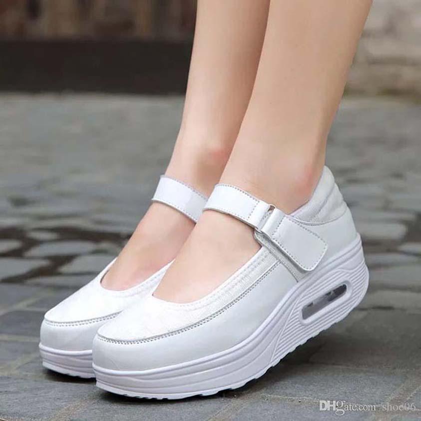 Com Box sapatilha Casual Shoes Formadores Moda Esportes sapatos de alta qualidade de couro botas sandálias Vintage Mulher 06PX1103 Air Para