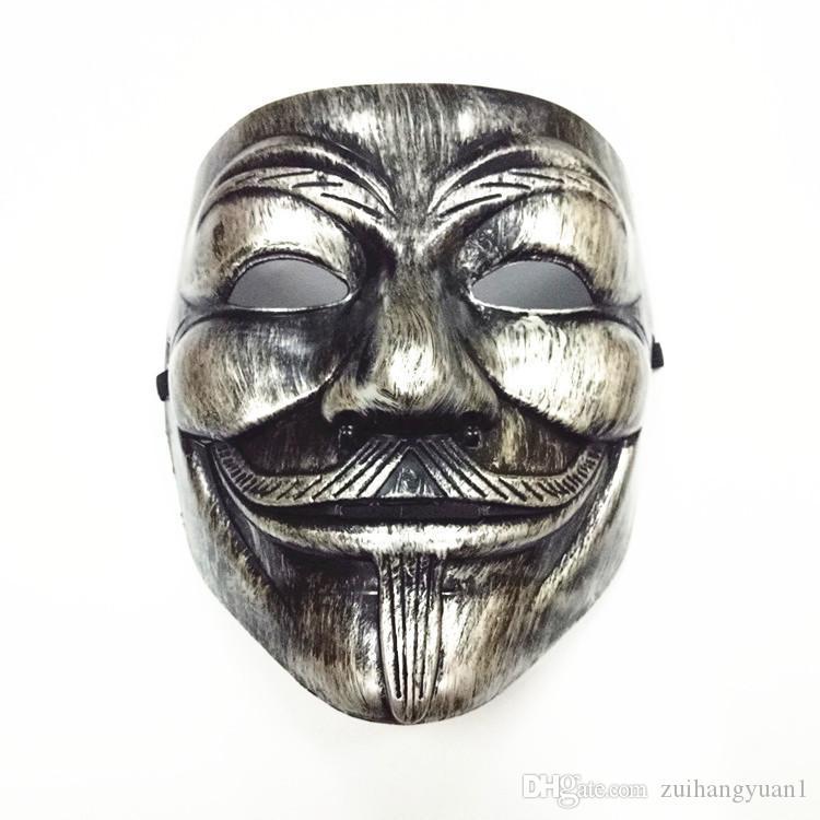 Halloween Mask 2020 V 2020 V For Vendetta Party Masks Halloween Mask Anonymous Guy