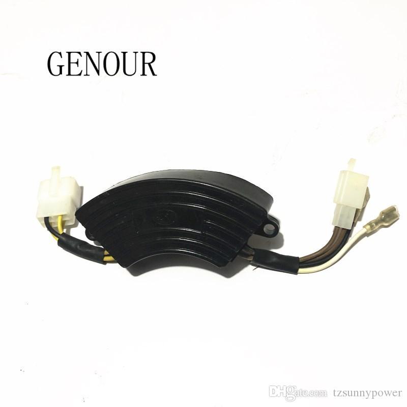 Dreiphasen-Generator KI-DAVR 95S3 Spannungsregler Automatischer Spannungsregler AVR-Generatorteile Spannungsregler f/ür Generator