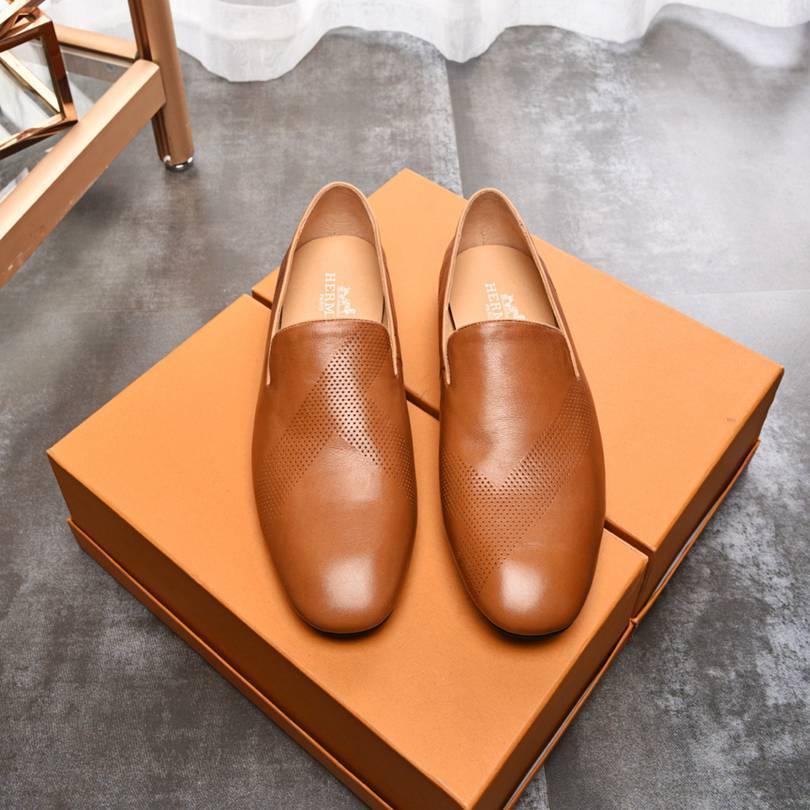 Мужская британская кожаная обувь моды плоское дно досуг бизнес ботинки платья ligongda2