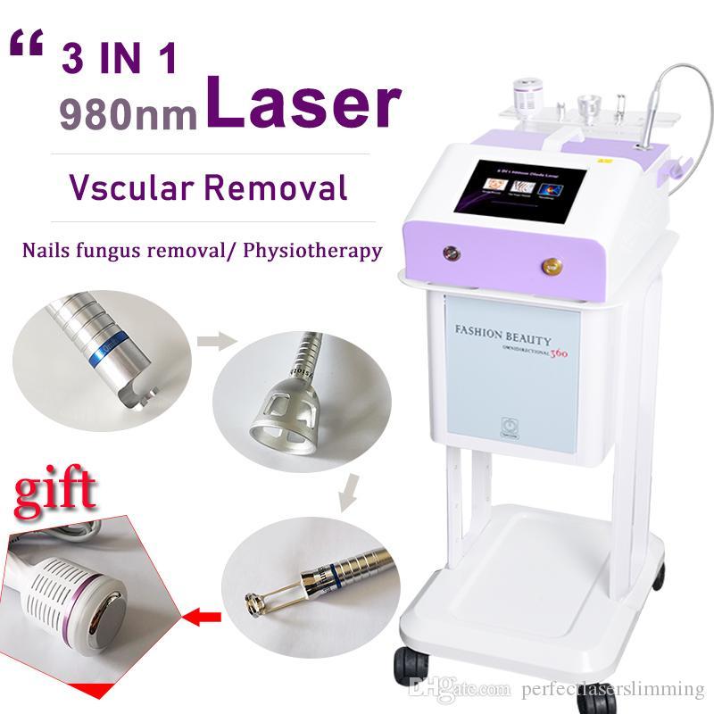 980nm 다이오드 레이저 혈관 제거 장비 빨간 정맥 제거 다이오드 레이저 980nm 기계 못 곰팡이 레이저 처리