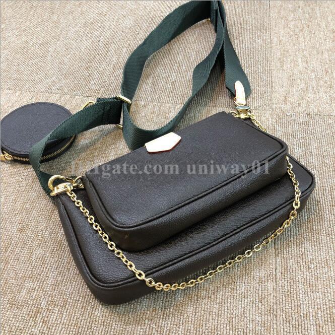 امرأة حقيبة الأصلي مربع التاريخ رمز محفظة حقيبة يد جلد طبيعي الرقم التسلسلي