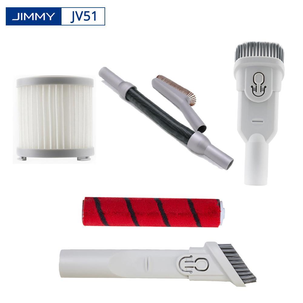 montão Vacuum Cleaner Parts Original JIMMY JV51 Vacuum Cleaner Acessórios Fenda Ferramenta HEPA Filter rolamento Escova Pó escova estiramento Ho ...