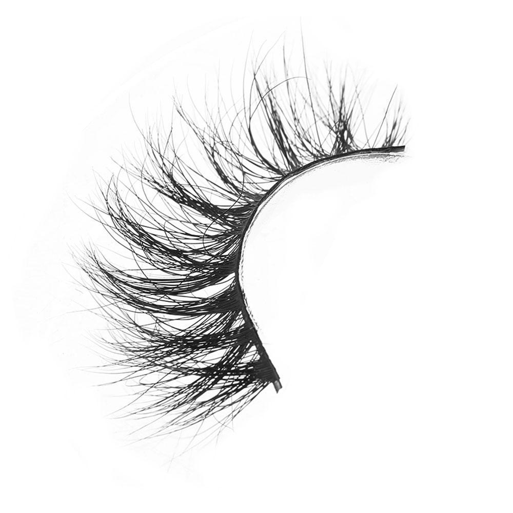 D008 100 %Real Siberian 3d Mink Full Strip False Eyelash Long Individual Eyelashes Mink Lashes Extension Tools Makeup