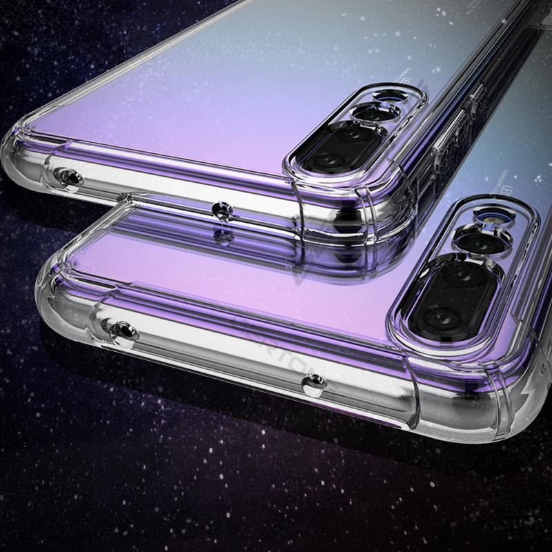 Macio TPU Phone Case para HTC 10 Pro U Jogue U11 Além disso Lite U12 Além disso Lite U15e Para o Google Pixel XL 2 2XL 4 4XL anti-choque Limpar casos sacos