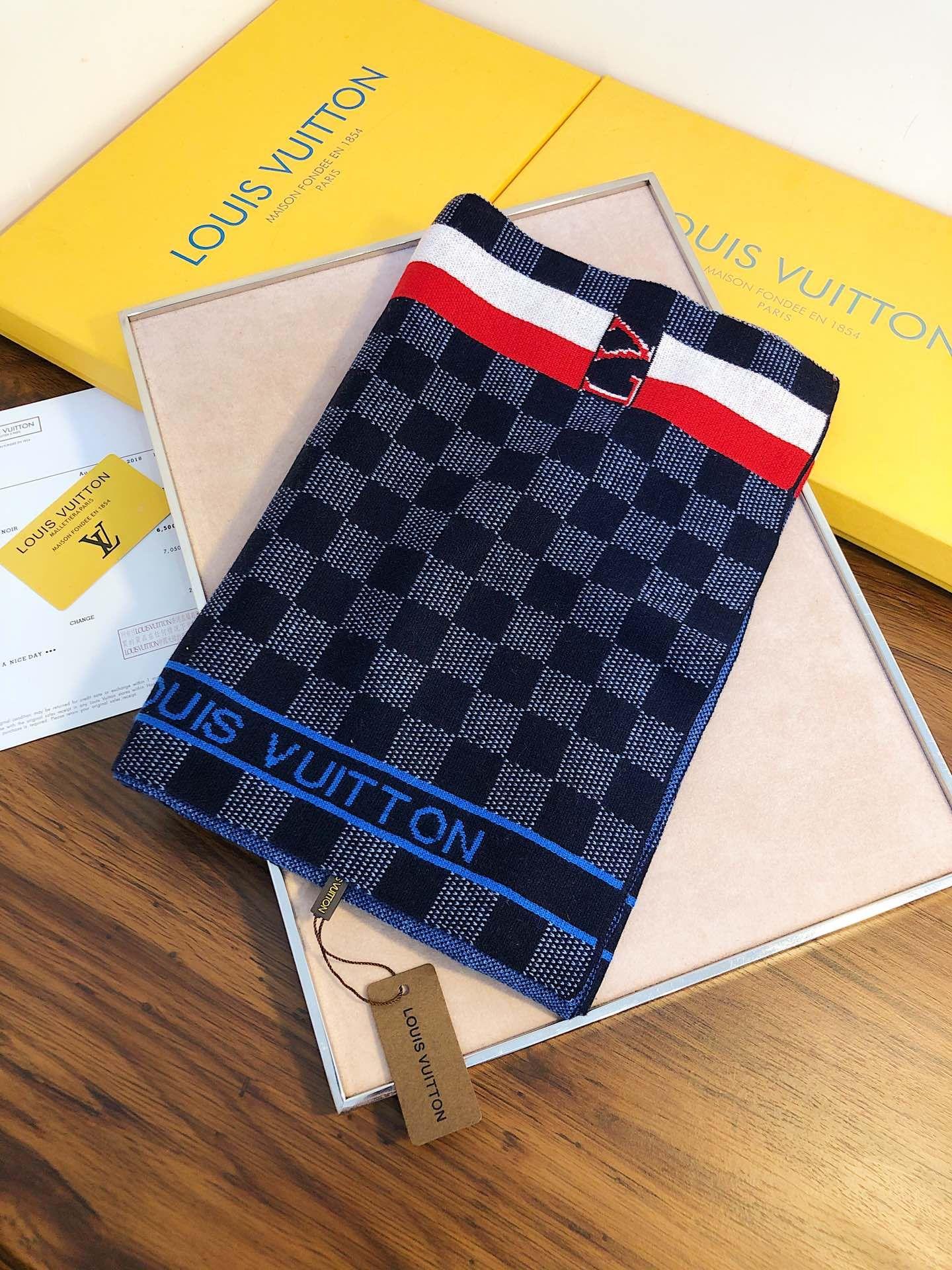 Lã homens Inverno Quente Petit Damier lenço da forma Gentlemen Carta remendo da manta Knit macia Texturas Xaile