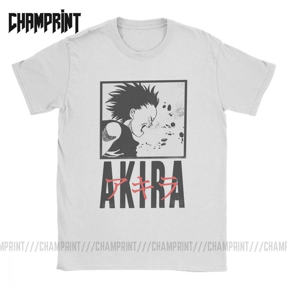 Mens Akira T Shirt Manga Kaneda Vaporwave Japanese Neo Tokyo Anime 100 Cotton Tops Short Sleeve Tee Shirt Graphic T Shirt Y200409 T Shirt Purchase Tee Shirt A Day From Shanye05 10 2