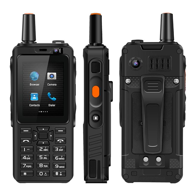 4G Walkie Talkie Cellphone FDD/TDD LTE Walkie Talkie Mobile Phone 5MP Back Camera Zello Android UNIWA F40