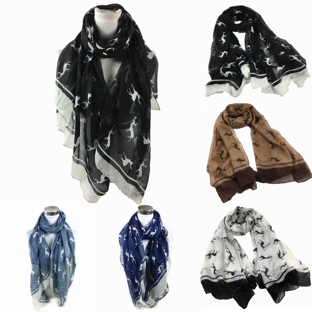 Women Elegant Scarf,Ladies Fashion Floral Print Soft Shawl Wraps Long Scarf Scarves