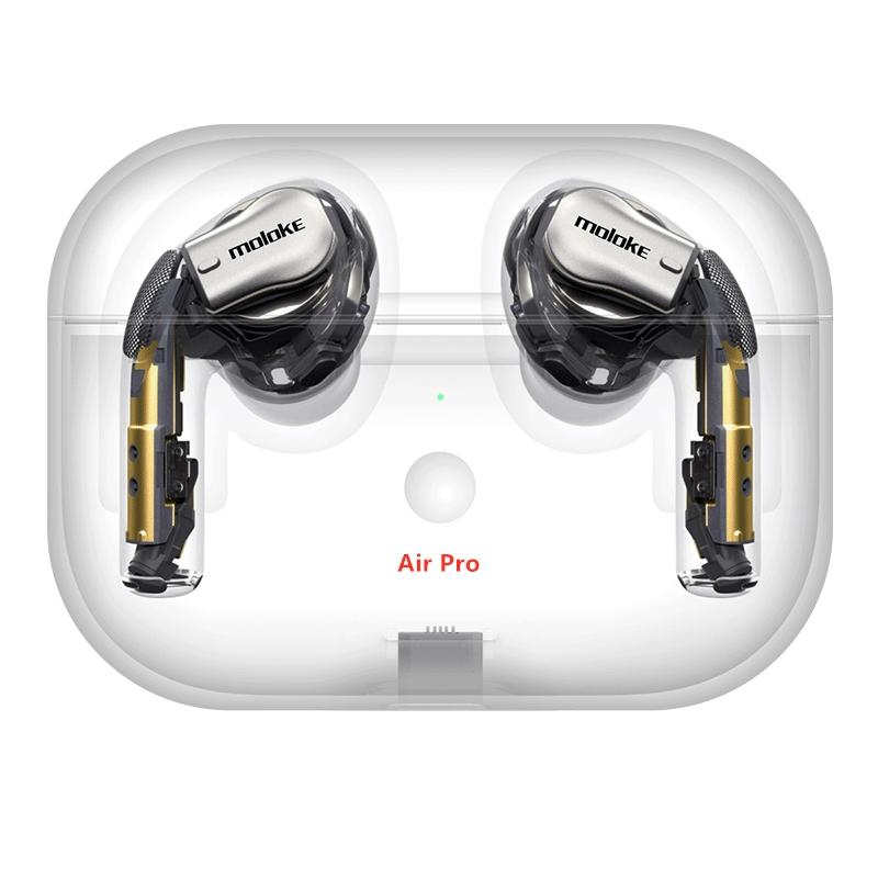 2019 neue Arrivel AirPro Air2 drahtlose Kopfhörer Noise-Cancelling Bluetooth Kopfhörer Arbeitsseriennummer GPS Headsets Drop shipping