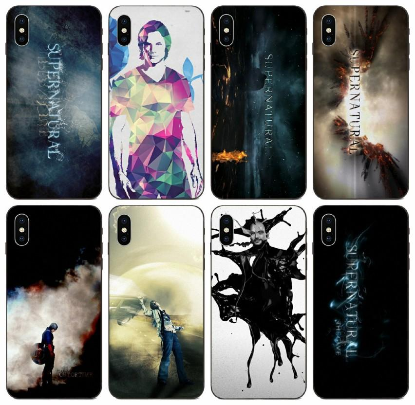 [TongTrade] Supernatural Tv-Zitate Logo-Kunst-Fall für iPhone 11 Pro X XS Max 8 7 6s 6p 5s 5p Galaxy A20 A20E A20S Huawei P10 Plus-Abdeckungs-Fall