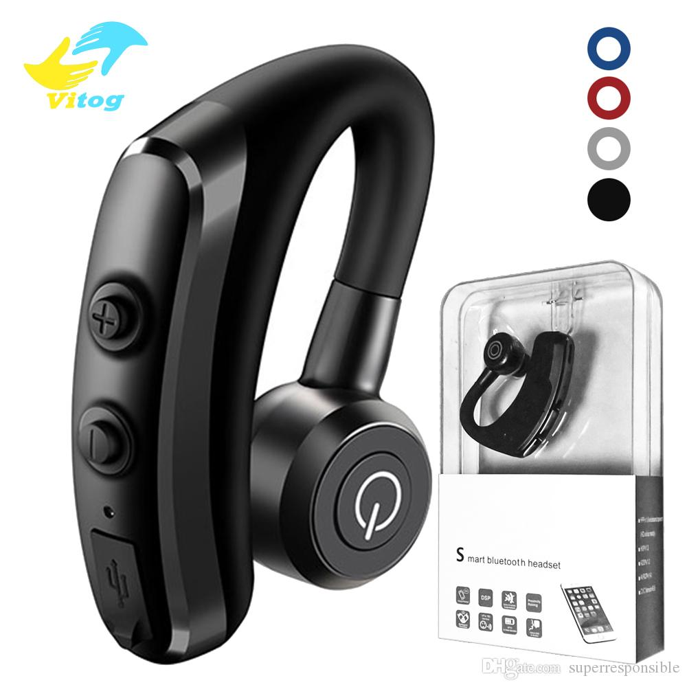 Vitog K5 Noise Control Business Wireless Bluetooth Headset Handsfree Wireless Earphones Bluetooth Headphones With Mic For Driver Sport Wireless Headset Cell Phone Headset For Mobile Phones From Superresponsible 5 02 Dhgate Com