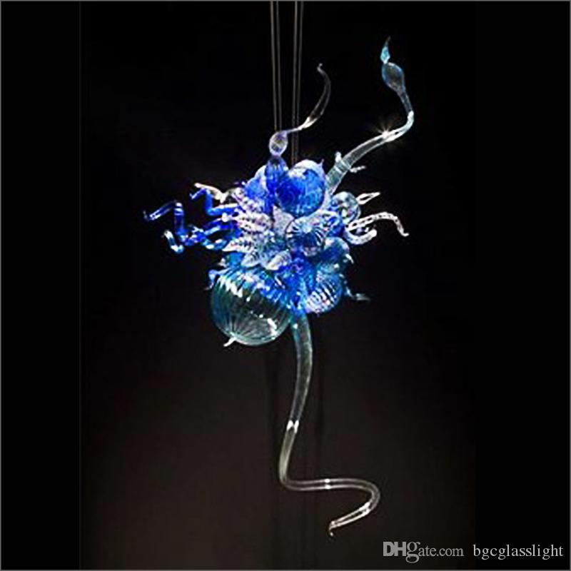 Chihuly Estilo Pendurado DIY mão soprada lâmpadas de vidro lâmpadas e suspensões bem desenhado lar candelabro iluminação