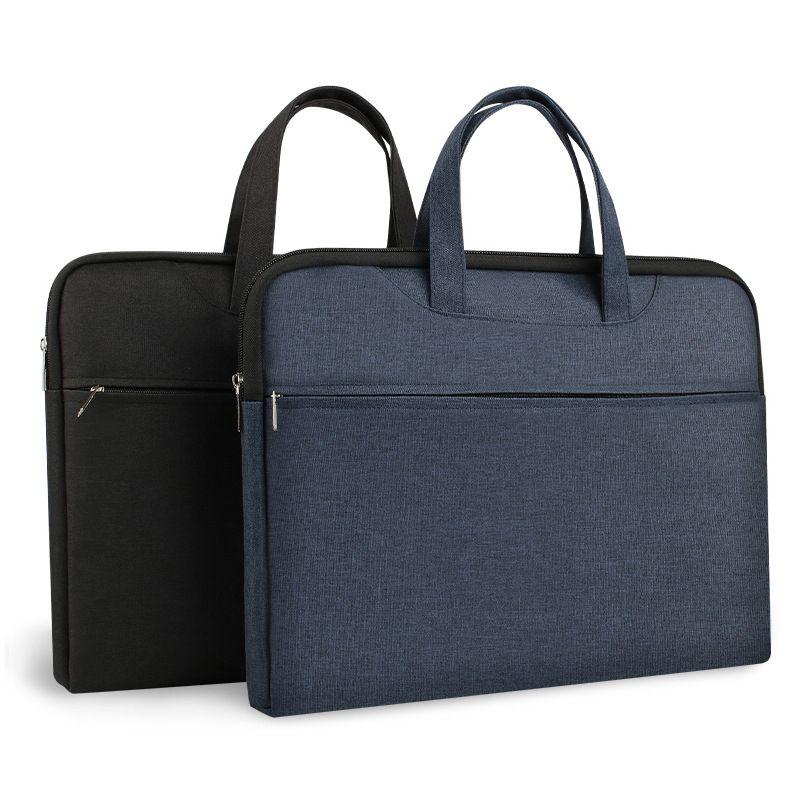 Lagerung Laptop Information Geschäfts- und Frauen Leinwandtasche Multifunktionale Dokument Aktentasche Männer Konferenztasche AUPNB
