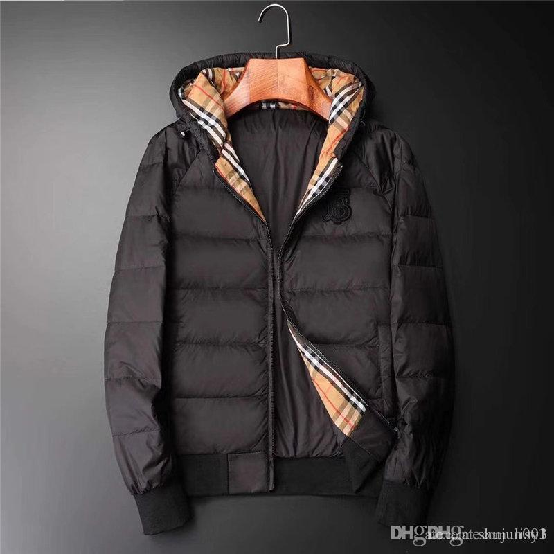 2019 jaqueta de inverno novo atacado para Parka Mens Moda arrefecer MEN camuflagem colar grande pêlo longo projetar casaco acolchoado outerwear casaco quente